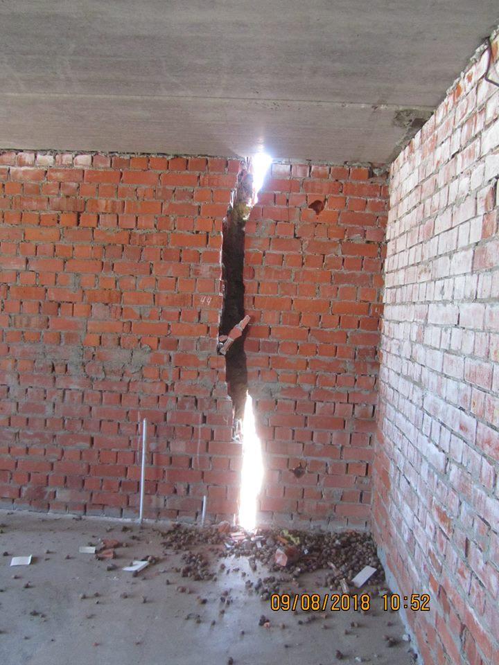 Информация о трещинах в строящихся пятиэтажках в Костанае подтвердилась