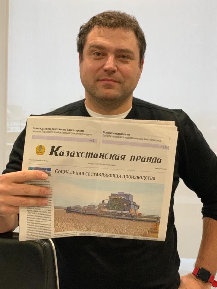 Глава Kaspi Bank Михаил Ломтадзе никуда не сбежал, он в Алматы, - исполнительный директор банка