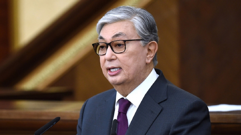 Моя позиция, во-первых, должен быть казахский язык,- Касым-Жомарт Токаев