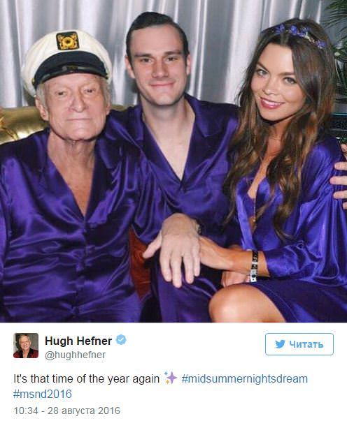 Основатель Playboy прокомментировал свою «смертельную болезнь»